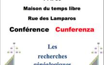 Palavas : Conférence sur les recherches généalogiques en Corse