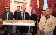 Il sera au Palatinu le 14 avril  : Antoine Ciosi a reçu la médaille de la ville d'Ajaccio