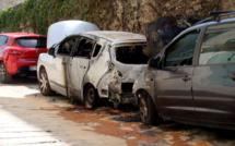 Encore des voitures incendiées à Bastia
