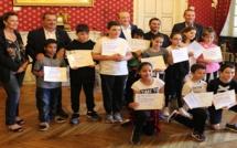 Ajaccio: Des diplômes pour une opération éco-citoyenne