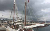 Le voilier-école le Mutin n'était plus venu en Méditerranée depuis la seconde guerre mondiale