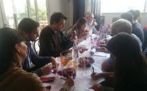 Le guide des vins corses en préparation à Calvi