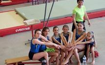 Six gymnastes balanines aux championnats de France