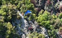 Cervioni :  Un blessé dans un accident de parapente
