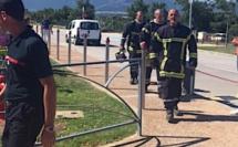 Fuite sur une  cuve de gaz au  complexe sportif de Calvi