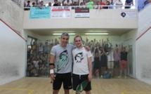 Thierry Lincou et Maud Duplomb vainqueurs du XXIIème Open International de Squash de L'Ile-Rousse