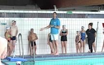 Bastia : Le champion olympique Alain Bernard à la piscine du Fango