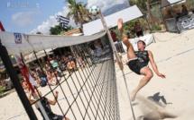 Futevolei : Du beau spectacle sur la plage du Peru à Carghjese
