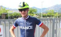 Germain Deschamps, prépare les championnats d'Europe juniors de Roller à Calvi