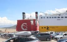 14 000 passagers et plus de 4 000 véhicules ont débarqué au port de L'Ile-Rousse