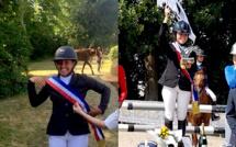 Deux jeunes Corses championnes de France de sauts d'obstacles