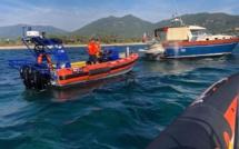 Double opération de sauvetage dans les Bouches de Bonifacio