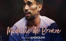 Le Bronze pour Morhad Amdouni