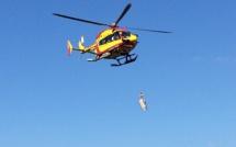 Chisa : Victime d'une fracture du pied en montagne, une femme évacuée par Hélicoptère