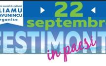 Festimonti in Paesi: Le programme complet de la journée du 22 septembre