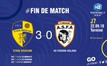 National 2 : Furiani-Agliani dominé à Saint-Brieuc (3-0)