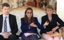 """Virginie Schwarz à Ajaccio : """"Le projet du gazoduc n'est pas du tout enterré !"""""""