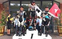 Alès : Caroline Santelli (Corsica  Moto Club) remporte la dernière course de la Women's Cup