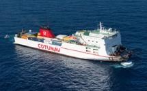"""Collision maritime dans le Cap Corse  : """"L'Ulysse"""" a mis le cap sur la Tunisie"""