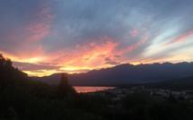 La photo du jour : Kaléidoscope de couleurs dans le ciel de Balagne