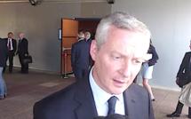 Bruno Le Maire ministre de l'Economie et des Finances en Corse lundi matin