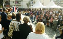 Ajaccio : inauguration de la place Jean Casili, en plein cœur des Salines