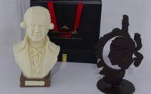 Bastia : De superbes sculptures en … chocolat !