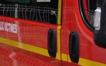 Une voiture percute un mur à Venaco : Un blessé