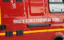 Casanova : Un blessé dans un accident de la route