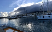 La photo du jour : Nuages noirs au dessus de Port-Toga