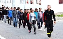 La 3ème promotion de cadets de Sécurité civile a fait sa rentrée à l'UIISC 5 de Corte