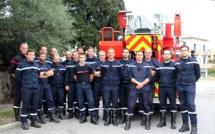 Huit nouveaux pompiers « écheliers » du SIS 2B,  formés avec succès en Balagne