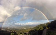 La photo du jour : Arc-en-ciel au-dessus d'Ajaccio