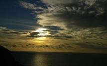 La photo du jour : Au-dessus  de la belle Revellata…