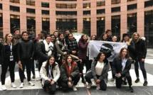 Les lycéens du Finosello d'Ajaccio à Strasbourg