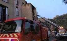 Un appartement entièrement détruit par les flammes à Santa-Reparata-di-Balagna
