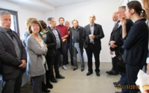 Inauguration des nouveaux locaux du centre médico-psychologique de Porto-Vecchio et Propriano
