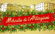 Bastia : Mercatu di l'Artisgiani sur la Place Guasco