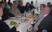 """Repas de Noël des seniors du  CCAS de Calvi """"Chez Léon"""" à Cateri"""