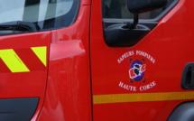 Aghione : Un pompier volontaire blessé dans un accident de la route