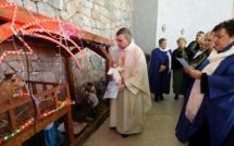 Messe de Noël : L'abbé Coeroli ouvre les festivités religieuses en l'Eglise de Castelluccio