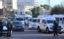 Ajaccio  :  Ambulanciers  en colère