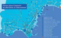 Ajaccio : Travaux place Campinchi, les alternatives de stationnement