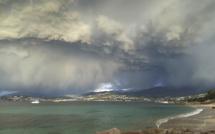 La photo du jour : Pietrosella, quand le ciel menace