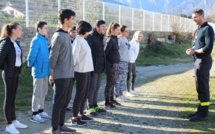 Une journée enrichissante pour les cadets de la sécurité civile regroupés à Corte