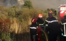 Début d'incendie à Palasca