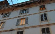 Bastia : Une partie de terrasse s'effondre au Marché