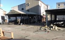 La destruction des terrasses des bars de la place de Porto-Vecchio marque la fin d'une époque