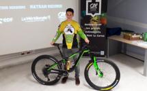 Enduro World Series VTT : Nathan Secondi repart pour une nouvelle saison avec ses trois partenaires
