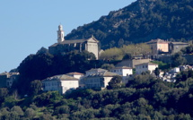 La photo du jour : San Martinu di Lota au-dessus du village